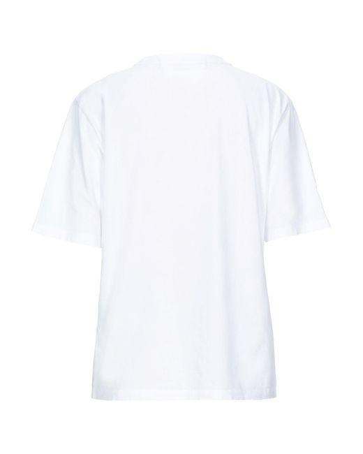 Filles A Papa Camiseta de mujer de color blanco 4DvTD