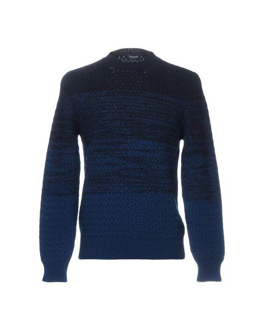 Drumohr Blue Sweater for men