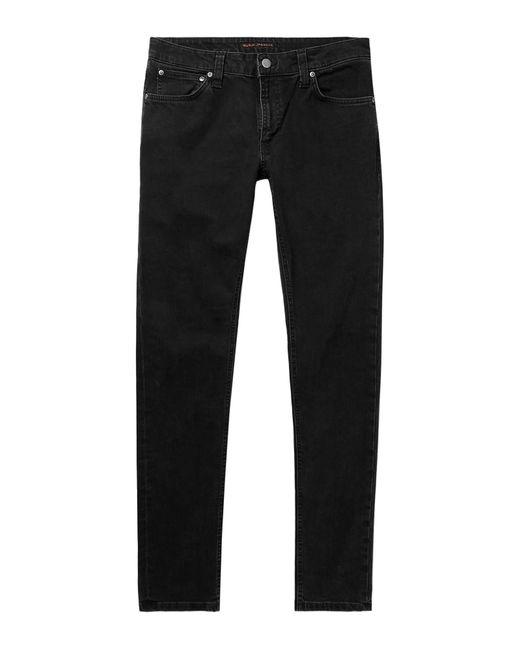 Nudie Jeans Jeanshose in Black für Herren