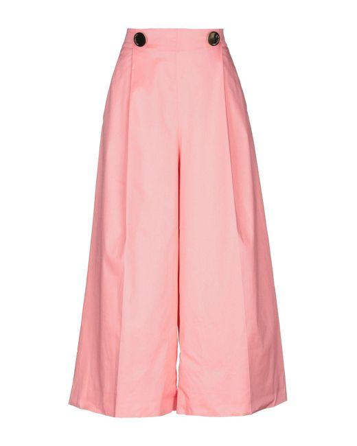 L'Autre Chose - Pink Casual Trouser - Lyst