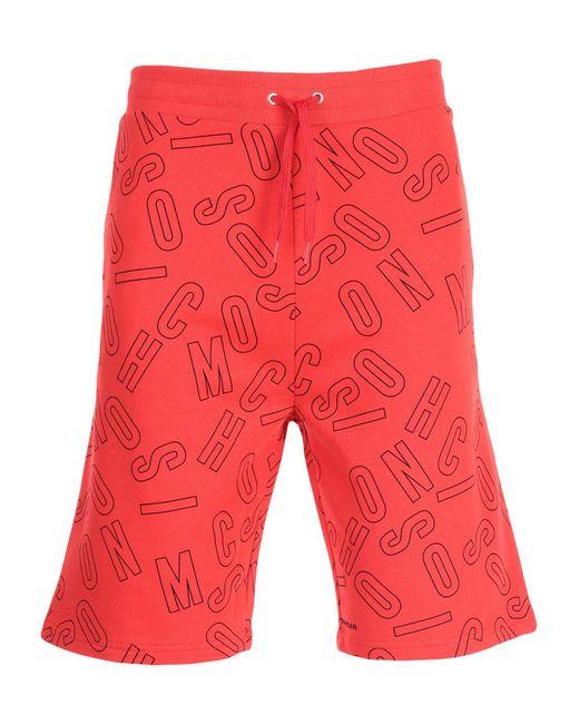 Moschino Red Sleepwear for men