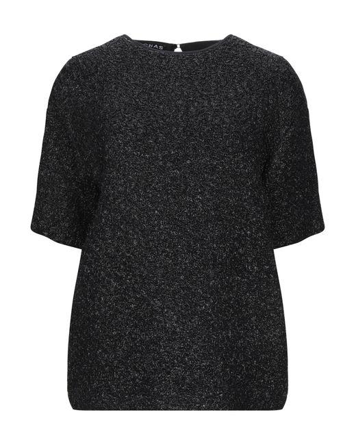 Rochas Blusa de mujer de color negro lDTTL