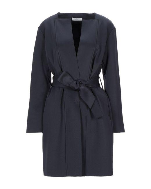 Alpha Studio Blue Overcoat