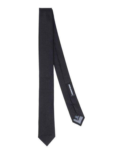 DSquared² | Black Tie for Men | Lyst