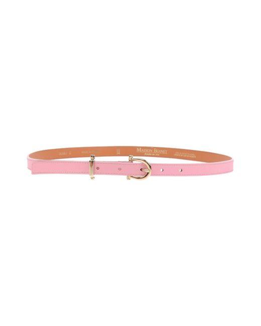 Maison Boinet - Pink Belt - Lyst