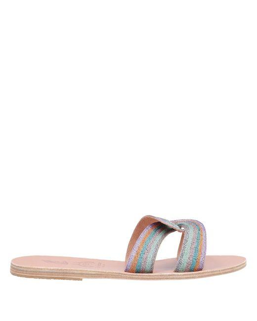 Sandalias Ancient Greek Sandals de color Purple
