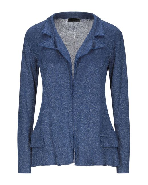 Cardigan di Roberto Collina in Blue