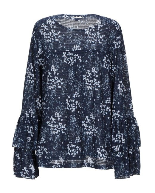 MICHAEL Michael Kors Blue Bluse