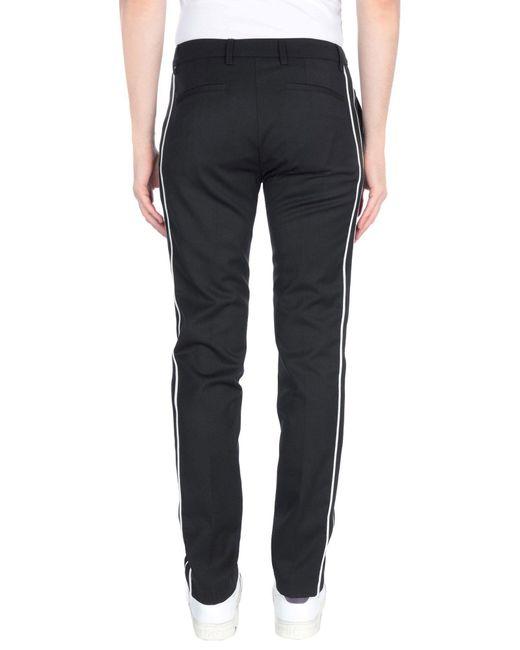 Pantalon Paolo Pecora pour homme en coloris Black