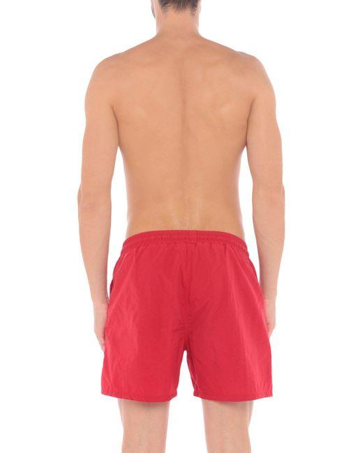 19aec2ff77 ... McQ Alexander McQueen - Red Swimming Trunks for Men - Lyst ...