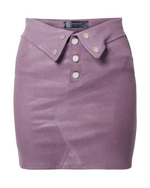 Minifalda Amiri de color Purple