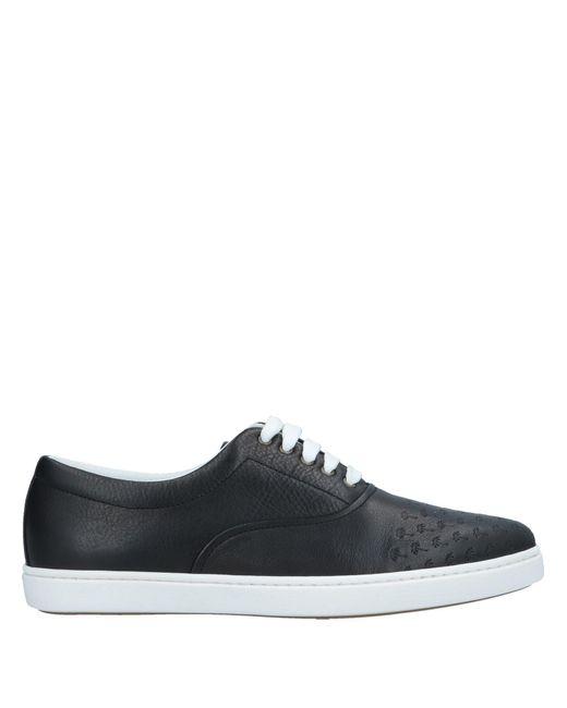 Tomas Maier Black Low-tops & Sneakers