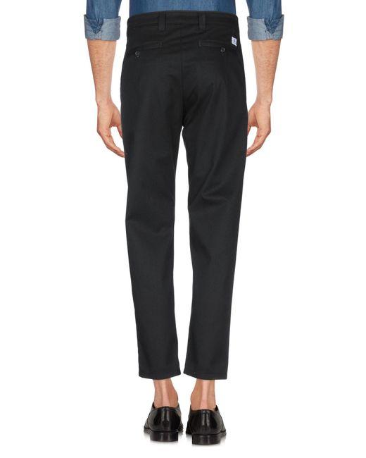 Department 5 Pantalon homme de coloris noir