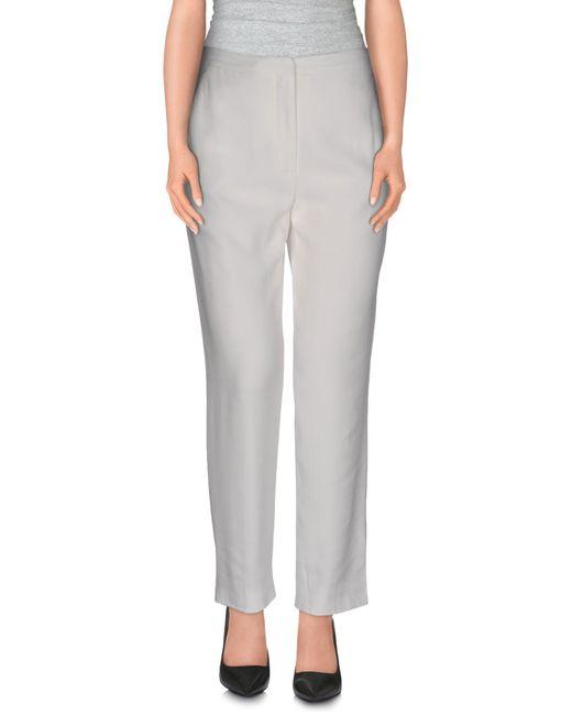 Alexander McQueen - Gray Casual Pants - Lyst