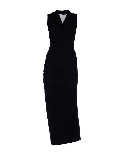 Rachel Roy | Black Long Dress | Lyst