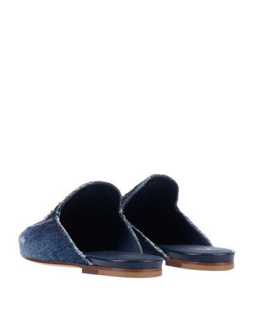 Mules & Zuecos Tod's de color Blue