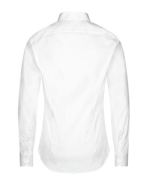 Camicia di Tonello in White da Uomo