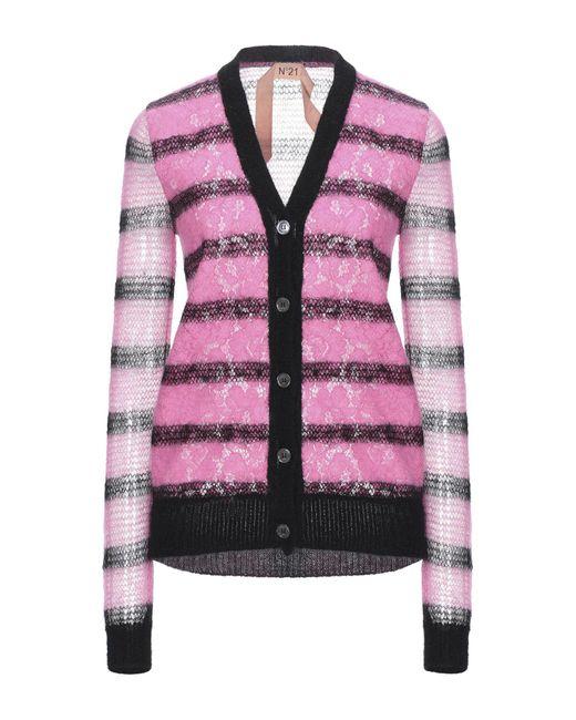 Cardigan di N°21 in Pink
