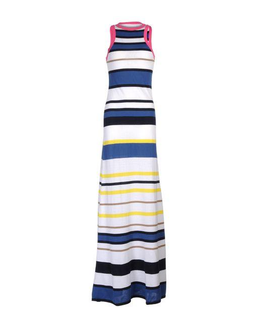 DSquared² - White Long Dress - Lyst