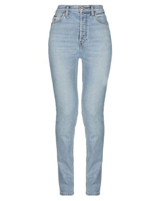 Pantaloni jeans di Re/done in Blue