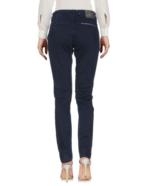 Care Label Blue Casual Trouser