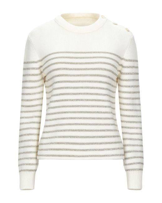 Pullover Saint Laurent de color White
