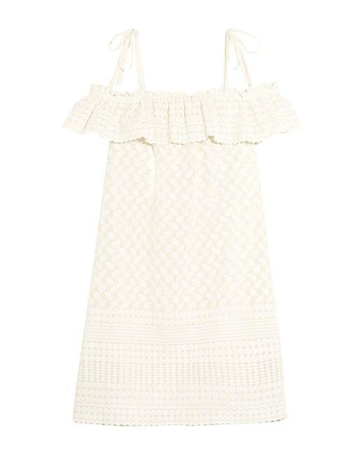 Paloma Blue Vestido de playa de mujer de color blanco