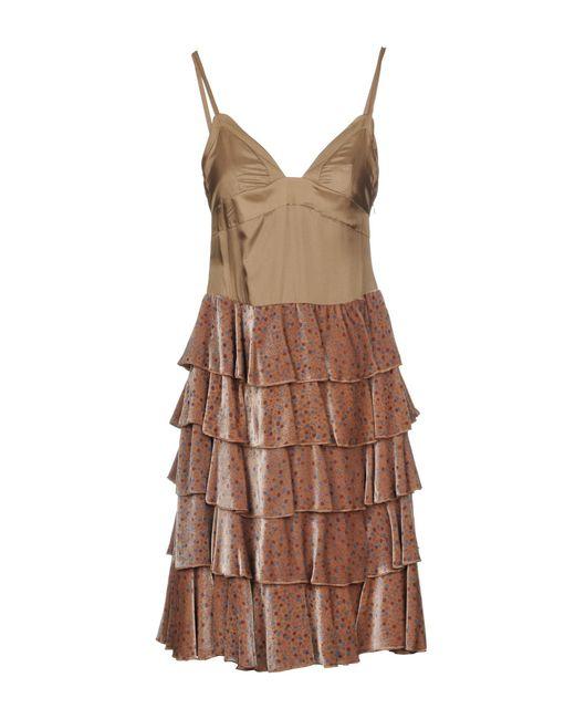 Marc Jacobs Multicolor Short Dress