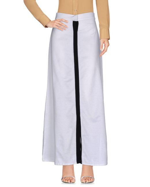 Prism | White Long Skirt | Lyst