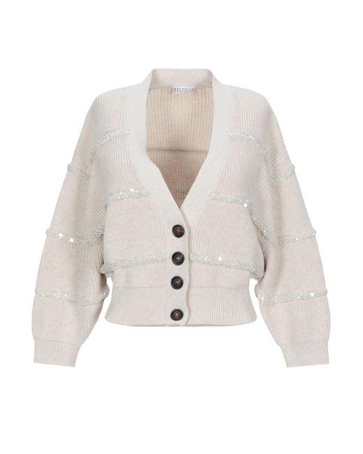 Cardigan Brunello Cucinelli en coloris White