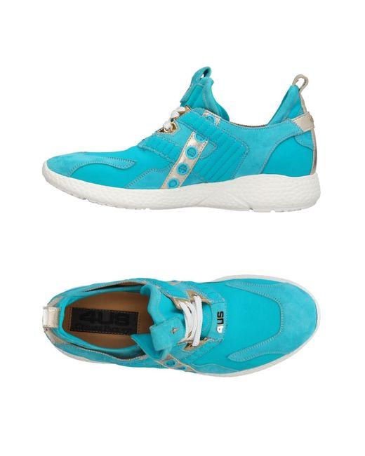 Cesare Paciotti Blue Low Sneakers & Tennisschuhe