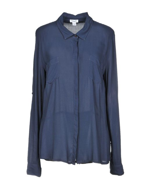 Splendid - Blue Shirts - Lyst