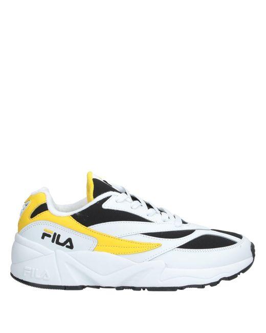 Fila Low Sneakers & Tennisschuhe in Yellow für Herren