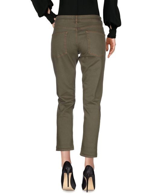 Pantalon Manila Grace en coloris Green