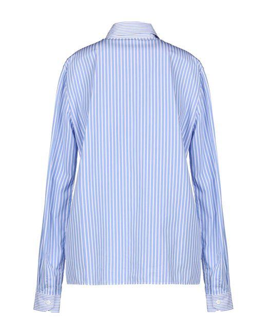 Miu Miu Blue Hemd