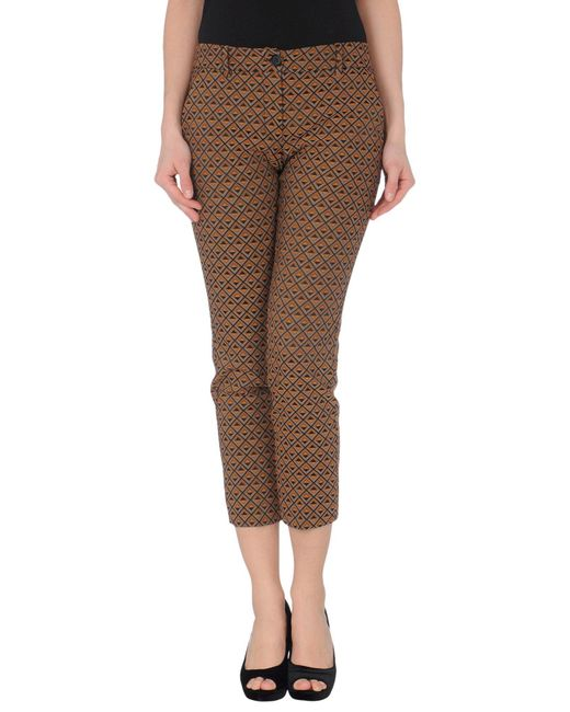 Teresa Dainelli Brown 3/4-length Short