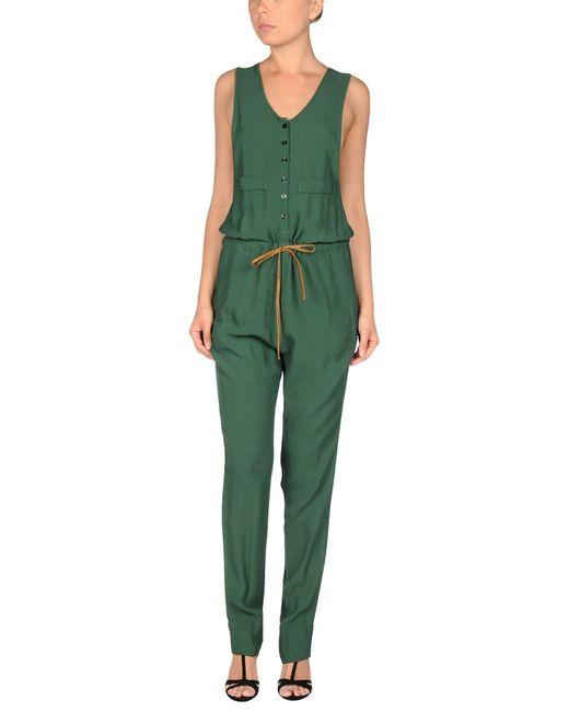 Manila Grace - Green Jumpsuit - Lyst