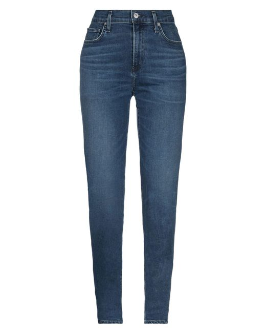 Citizens of Humanity Blue Denim Trousers
