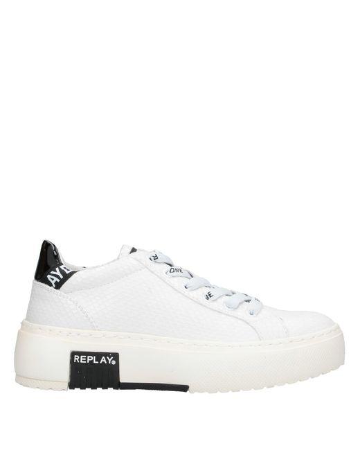 Replay Sneakers & Deportivas de mujer de color blanco