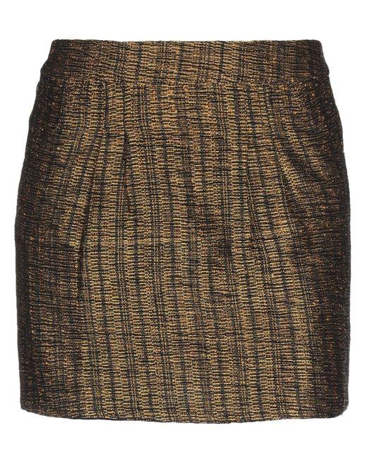 Mes Demoiselles Multicolor Mini Skirt