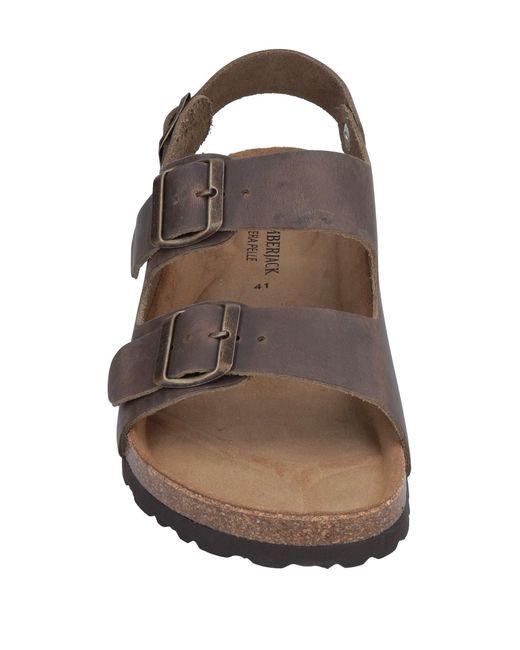 Lumberjack Brown Sandals for men