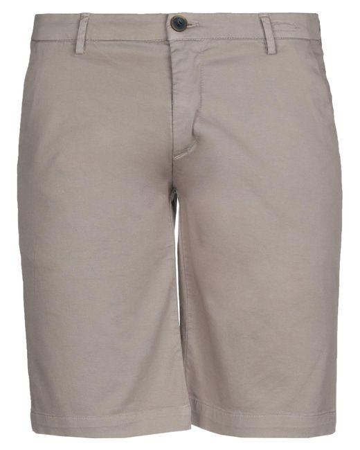 Yan Simmon Natural Bermuda Shorts for men