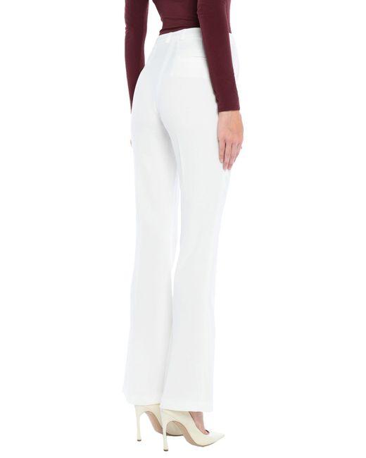 Pantalon Hanita en coloris White