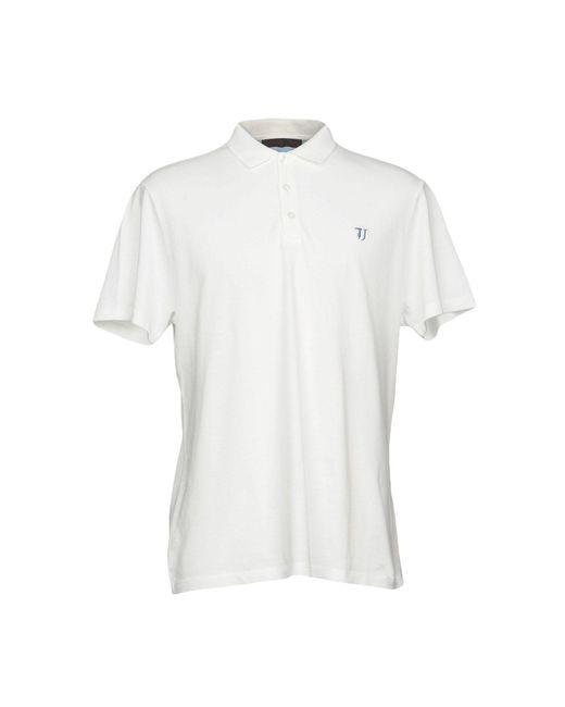Trussardi | White Polo Shirt for Men | Lyst