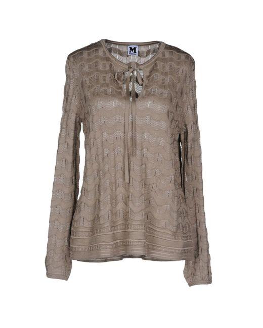 M Missoni Gray Sweater