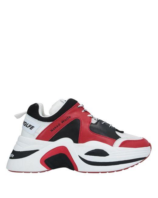 Naked Wolfe Sneakers & Deportivas de hombre de color rojo