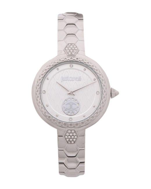 Just Cavalli Metallic Wrist Watch