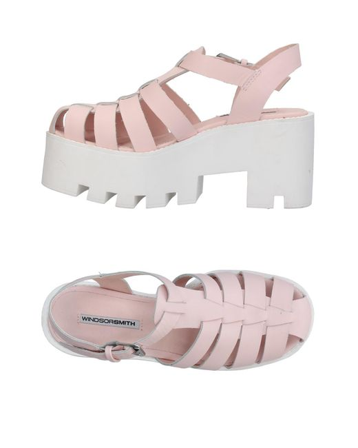 Windsor Smith - Pink Sandals - Lyst
