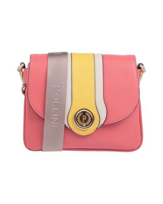 Borse a tracolla di Pollini in Pink