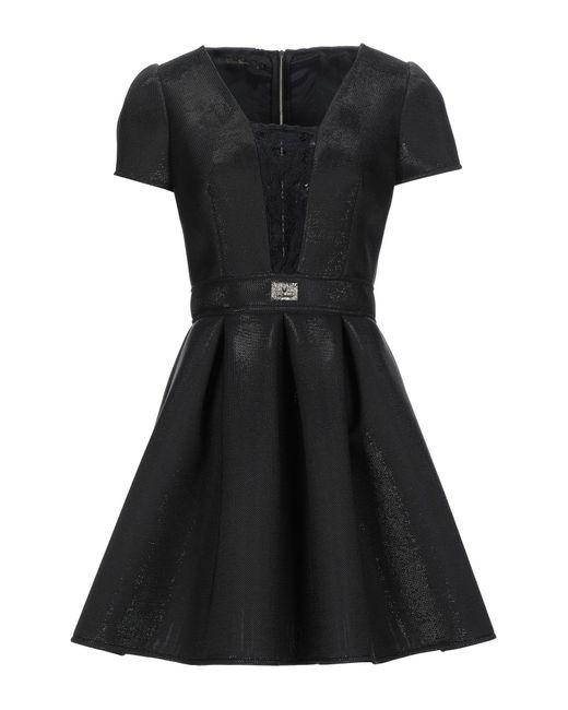 W Les Femmes By Babylon Black Short Dress